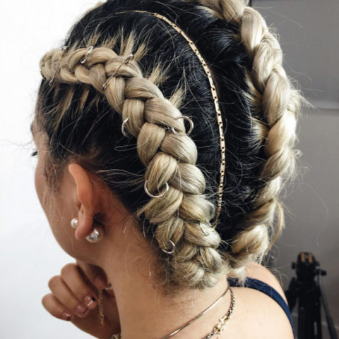 Coachella Style Fashion - Hair