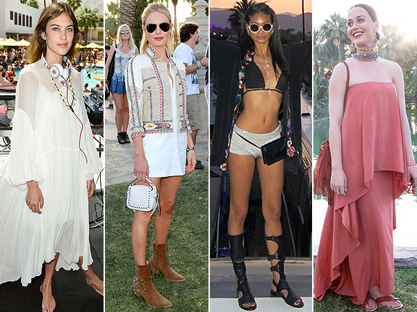 Alexa Chung, Kate Bosworth, Chanel Iman, Katy Perry