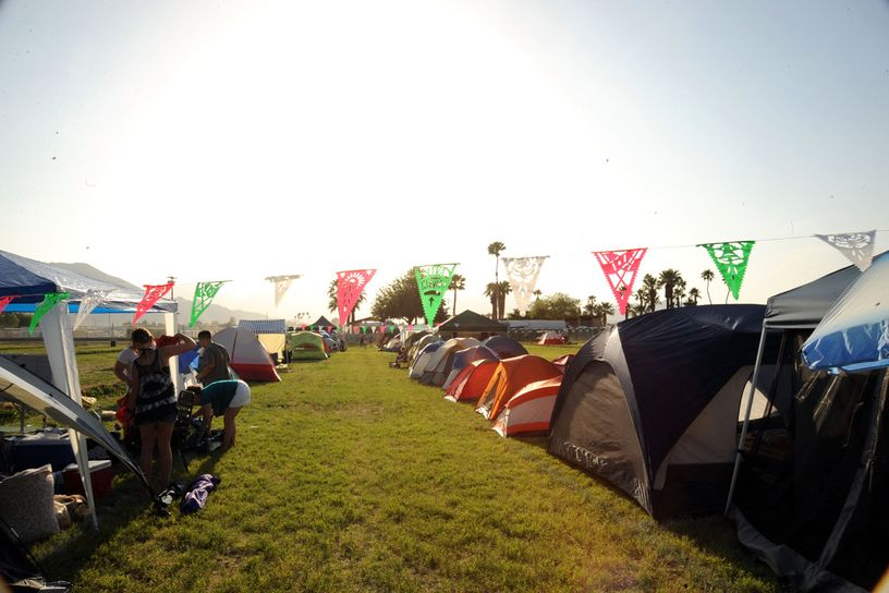 Coachella campers